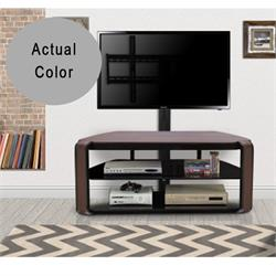 "Otis TV STAND (holds up to 55"") Smoke Grey TF355WSG Image"