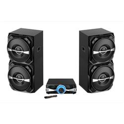 "3000 Watts PMPO, 2 twin ""12 1.5 tweet, bluetooth  PARTY2500 Image"