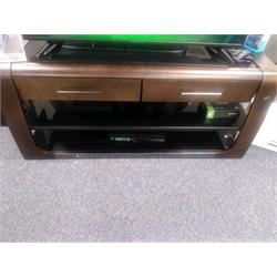 "60"" TV Stand Triple Play For  Flat Panel TV's Dark 954783 Image"