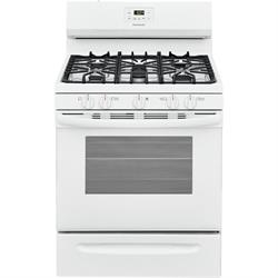 White gas ,Sealed 5 Burners, 4.2 cu. ft,self clean FCRG3052AW Image
